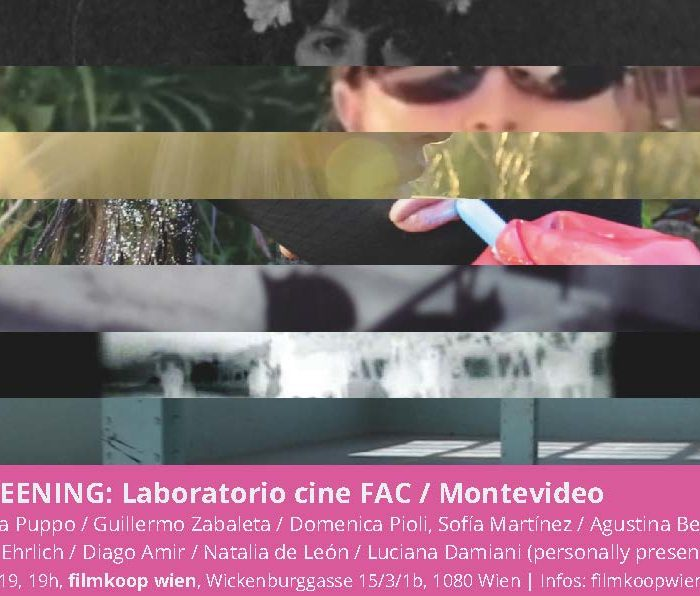 SCREENING: Laboratorio cine FAC (Montevideo, Uruguay)